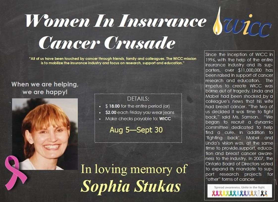 USA WICC Tribute to Sophia