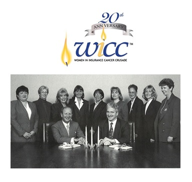 A look back: Original WICC board led by co-founders and co-chairs, Mabel Sansom and Linda Matthews.